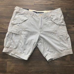 Polo Ralph Lauren Seersucker Cargo Shorts (NWT)